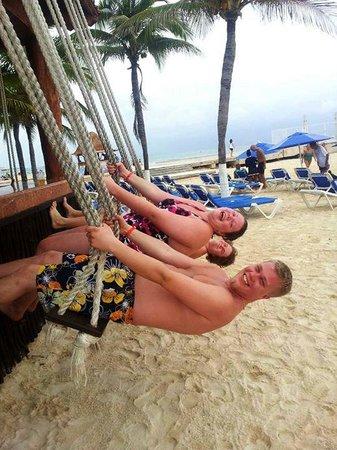 Real Playa del Carmen: Strandbar-häng :)