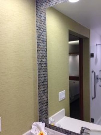 SpringHill Suites Pittsburgh Latrobe: Lovely Shower
