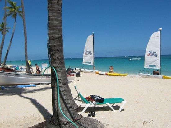 Hotel Riu Naiboa : Linda playa