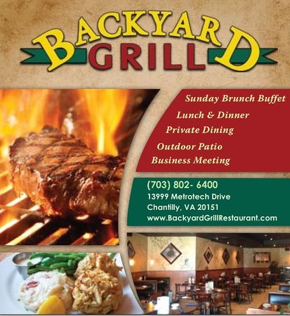 Backyard Grill, Chantilly - Menu, Prices & Restaurant ...