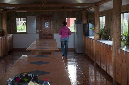 Camping Mihinoa : Comedor