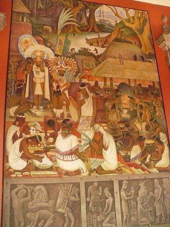 Mural de diego rivera en el palacio nacional picture of for Diego rivera mural palacio nacional