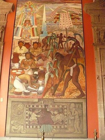 Mural de diego rivera en el palacio nacional picture of for Mural de rivera