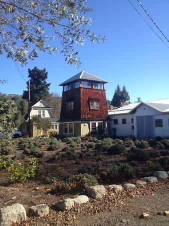 Soda Rock Winery: Water Tower suite, incredible views 360 degrees.