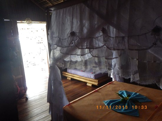 Gîte Guyan : aperçu d' une chambre