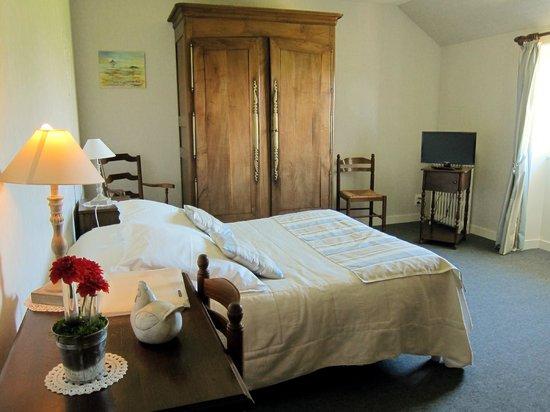 Ferme Saint Joseph : Guestroom on Second Floor of Main Building