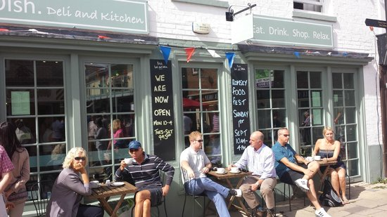 Dish Deli & Kitchen: Dish on Romsey Food Fest Day!