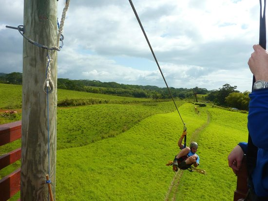 Just Live! Zipline Tours : Just Live!: One of Our Guides
