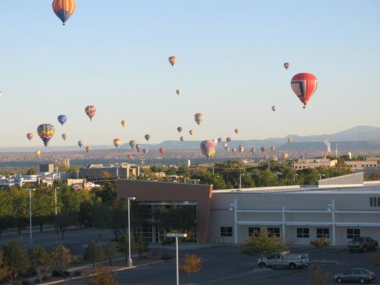 Drury Inn & Suites Albuquerque North: Taken from Drury Hotel room