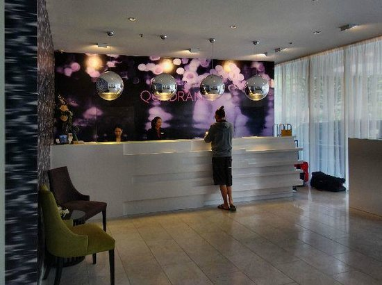 The Quadrant Hotel and Suites Auckland: Reception