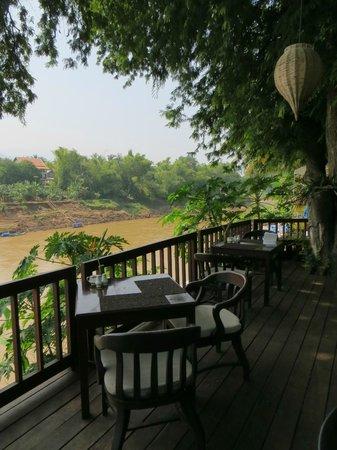 Burasari Heritage : Breakfast terrace