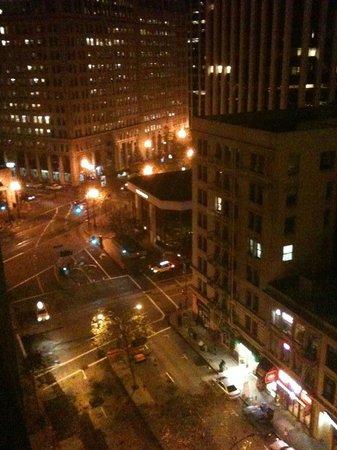 Hyatt Regency San Francisco: From our 10th floor window