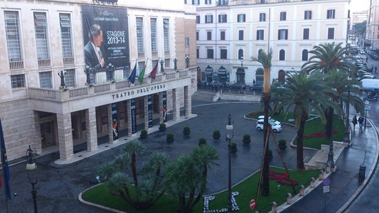 Lirico Hotel: View from the window