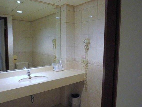 Hotel Flowers: 浴室