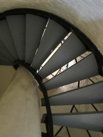 Gibb's Hill Lighthouse: Be prepared to climb stairs - with landings to rest on the way