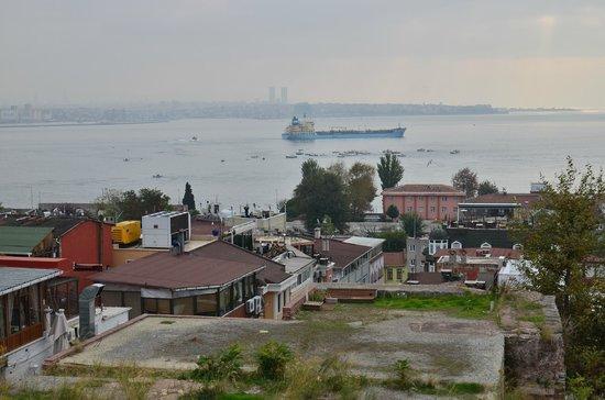 Cem Sultan Hotel : вид с крыши
