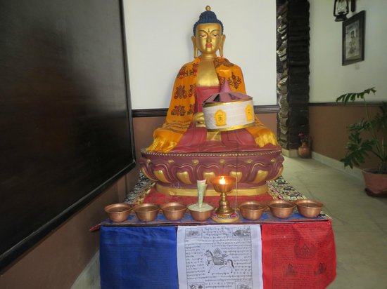 Dream Nepal Hotel and Apartment: Entry Buddha