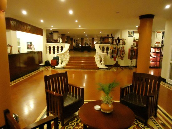Victoria Chau Doc Hotel: lobby