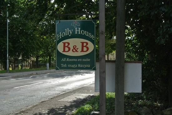 Holly House B&B: Holly House on Station Road