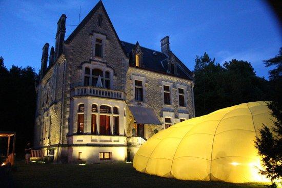 Chateau La Thuiliere: une soirée par comme les autres