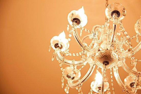 Hyde Park Boutique Hotel: Lamp