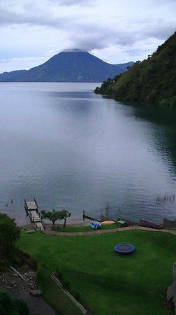 Hotel La Riviera de Atitlan: lac Atitlan