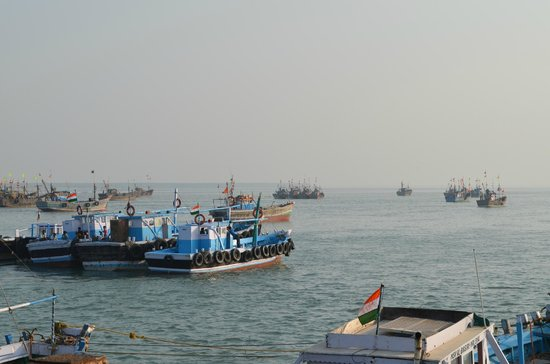Beyt Dwarka Beach : Another view of Jetty