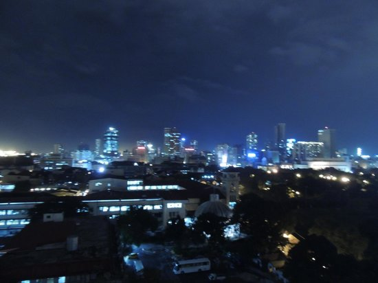 The Bayleaf Intramuros : View from the rooftop