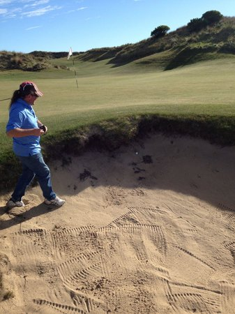 Barnbougle Dunes: Didn't get out in 1!