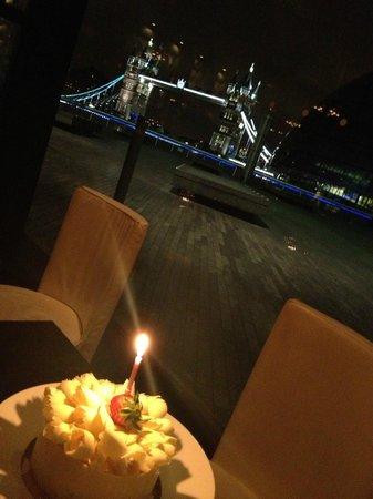 My birthday cake at gaucho, perfet night!