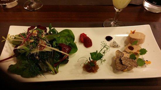 La Pause Gourmande : Une entrée magnifique