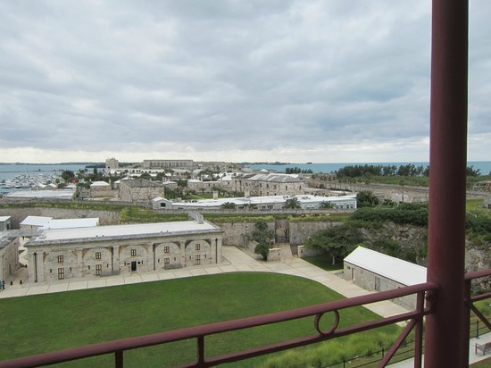 National Museum of Bermuda: From the upper porch of the Commissioner's House