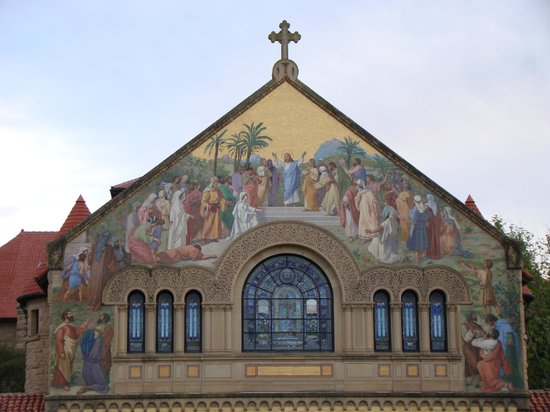 Stanford University: Стэнфордская церквь
