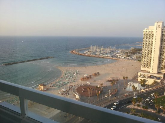 Sheraton Tel Aviv: All upper rooms have a good view