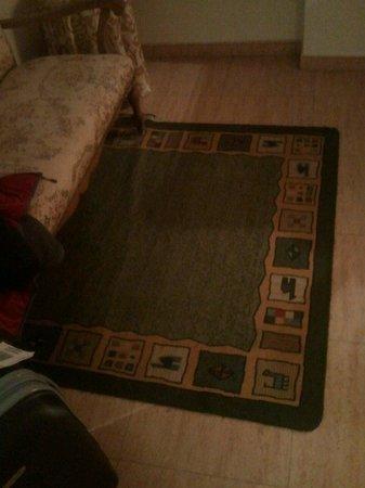 Hotel Iberia: alfombra que no pinta nada ahi...