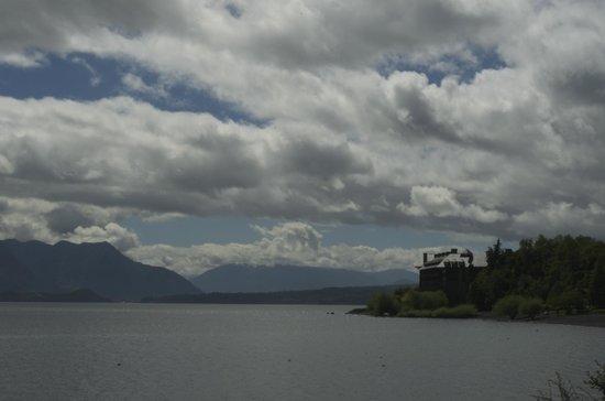 Cabanas Azul del Parque: vista desde la cabana