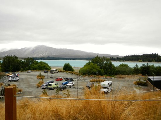 Tekapo Springs : view from the pools