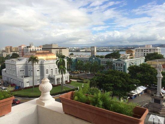 Posada San Francisco Old San Juan: Day time view from 5th floor balcony