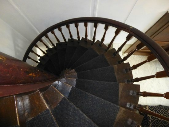 Hotel Keizershof: The spiral staircase