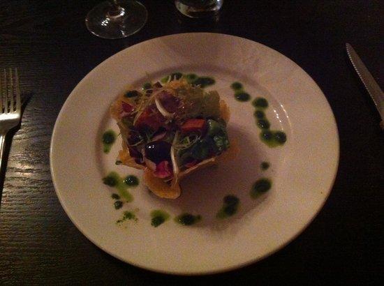 31 Castlegate Restaurant: Duck starter