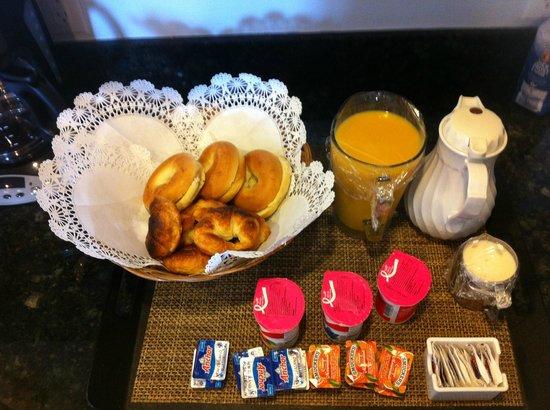 Princess Heights Hotel: Cafe da manhã