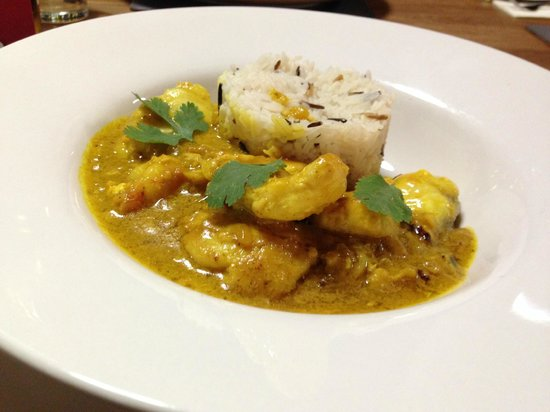 Griggs Restaurant: Fish Curry Special