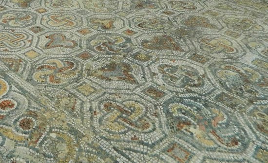 Curetes Street: Courtyard mosaic