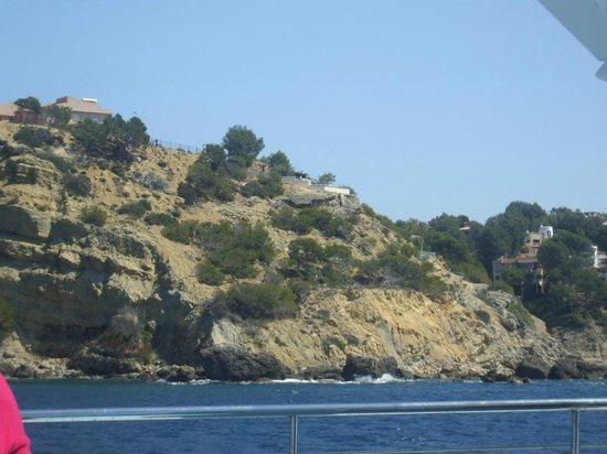 Olimarotel Gran Camp de Mar: Cliffs