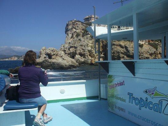 Olimarotel Gran Camp de Mar: Boat trip