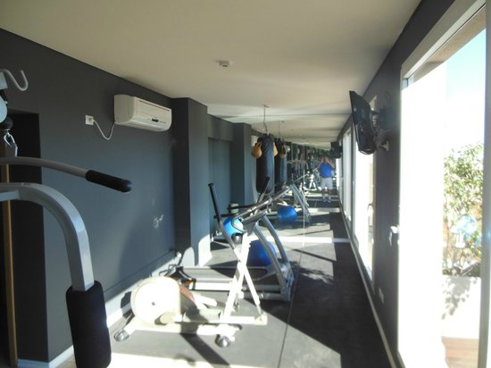 Palermo Place by P Hotels : Fitness Room on 7th Floor
