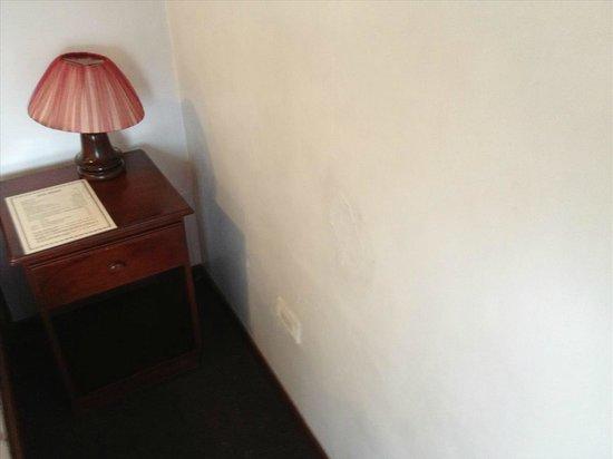 Windsor Hotel: Damp walls