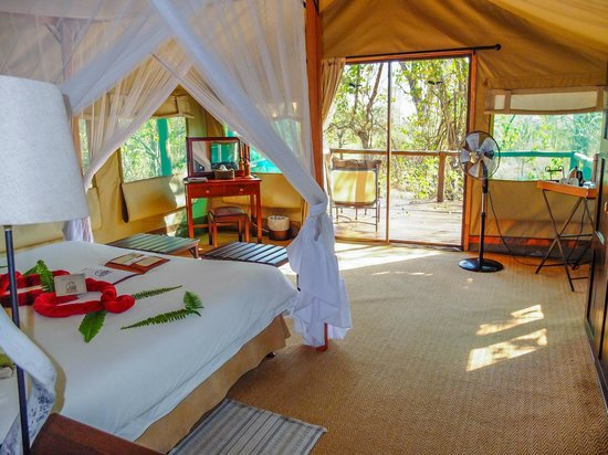 Camp Moremi : Very nice rooms.