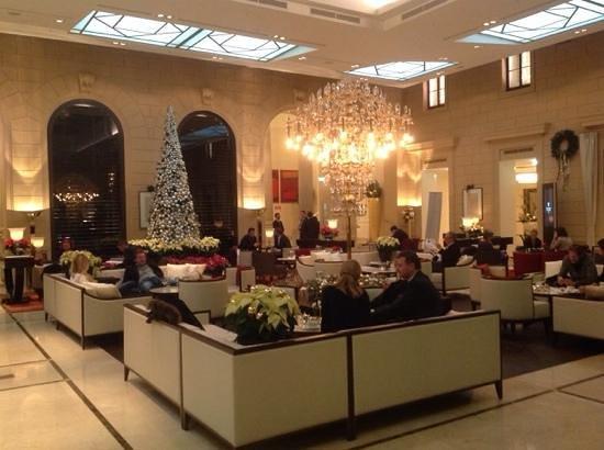 Palais Hansen Kempinski Vienna: Die Lobby