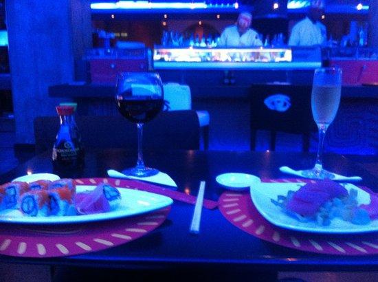 Radisson Decapolis Hotel Panama City: Sushi restaurant
